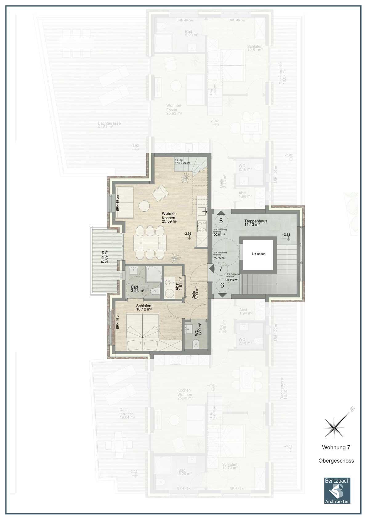 Wohnung 7 Obergeschoss
